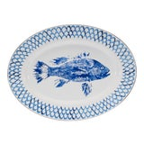 Image of Oval Platter Fish Camp For Sale