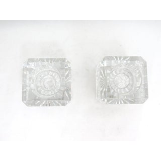 Waterford Crystal Cube Candle Holders - a Pair Preview