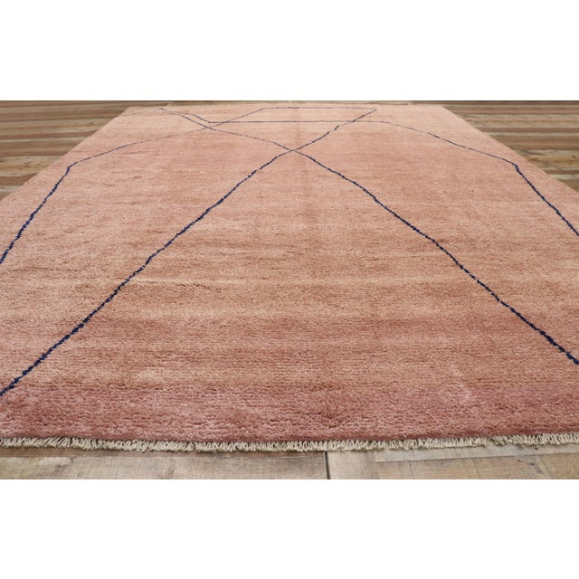 Textile Moroccan Contemporary Rug - 10'00 X 13'06 For Sale - Image 7 of 10