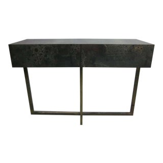 French Mid-Century Modern Credenza /Console / Sofa Table by Jacques Quinet, 1970