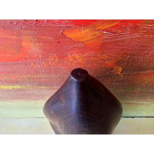 Bob Womack Ironwood Turned Vessel For Sale - Image 4 of 7
