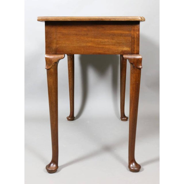 Traditional George III Mahogany Side Table For Sale - Image 3 of 7