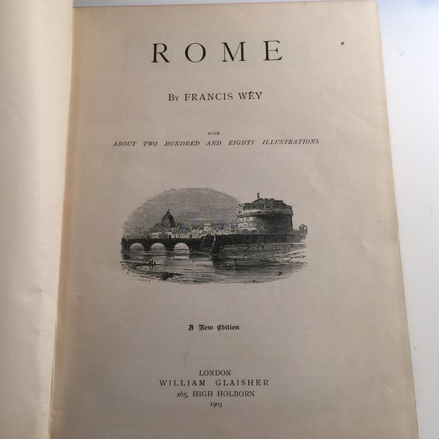 Rome - Its Churches, Monuments, Art, and Antiquities Book For Sale - Image 4 of 11