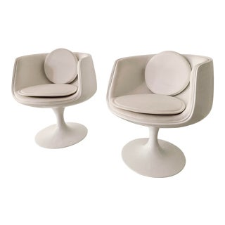 Eero Aarnio Cognac Chairs- A Pair For Sale