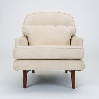 Lounge Chair with Bracket Base by Roger Sprunger for Dunbar Preview