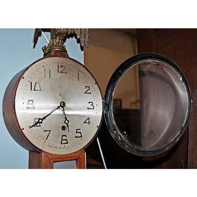 New Haven Banjo Wall Clock For Sale In West Palm - Image 6 of 8