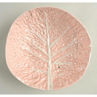 "1970s Secla Cabbage Pink 8"" Round Serving Bowl Preview"