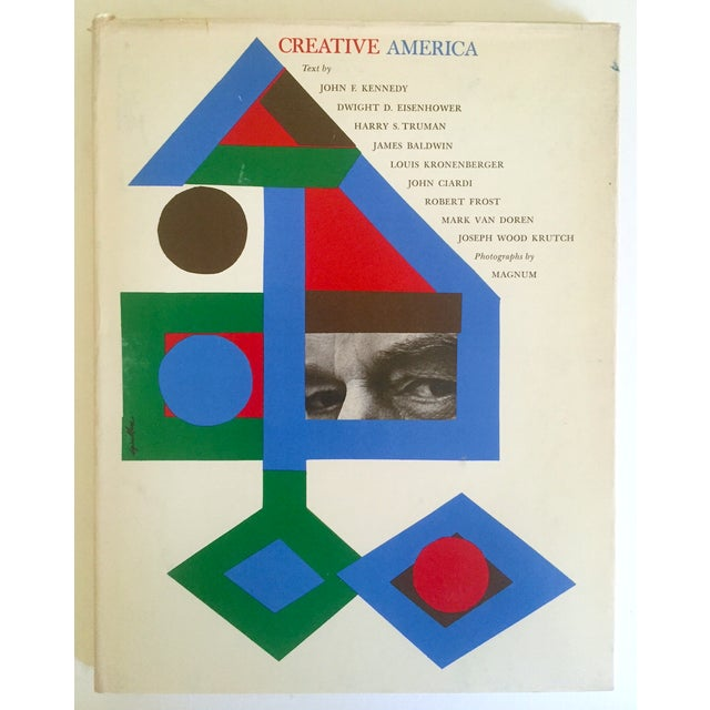 "Vintage 1962 ""Creative America"" Mid Century Modern Collector Cultural Arts Book For Sale - Image 10 of 10"