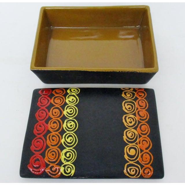 Bitossi Rosenthal Netter Ceramic Box For Sale - Image 5 of 9