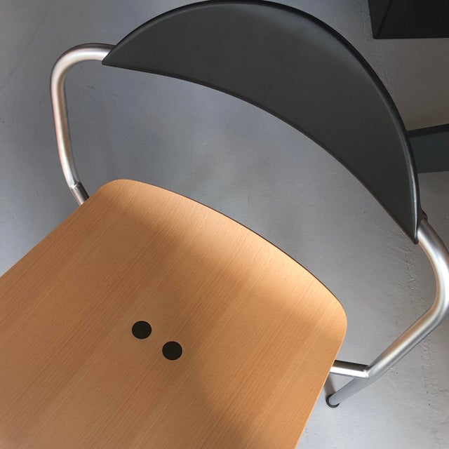 Pair of Vicosolo Chairs. Fritz Hansen for Knoll. Designer: Vico Magistretti, Italy. These chairs boast a beautiful design...