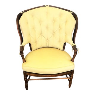 Vintage French Country Oversized Chair