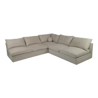 Modern Mid Century Style Sectional For Sale