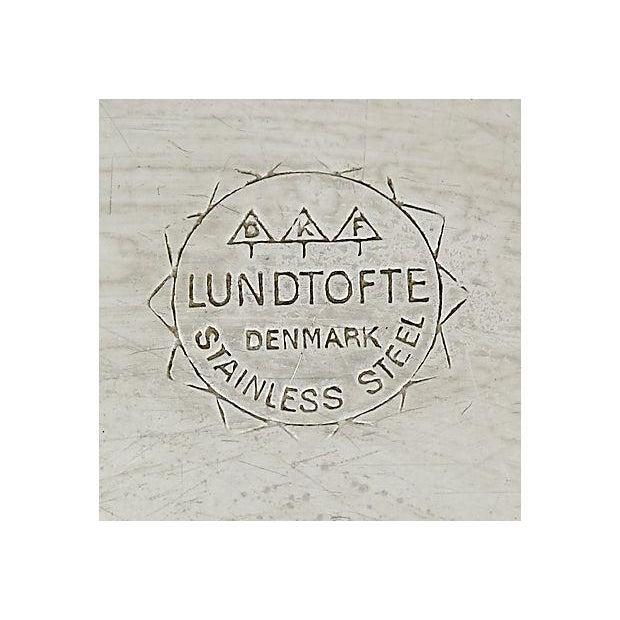 Danish Lundtofte Stainless Bowl - Image 4 of 4