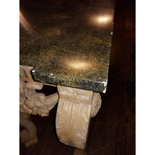 Maitland-Smith Vintage Console Table For Sale - Image 9 of 11