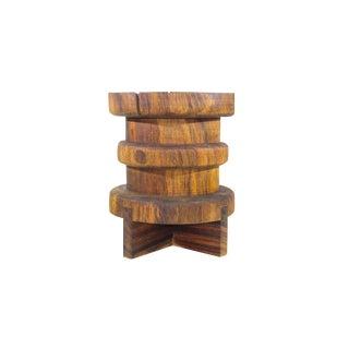 Tito Side Table, Conacaste Natural