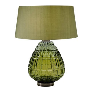 Laguna Table Lamp in Olive Colour For Sale