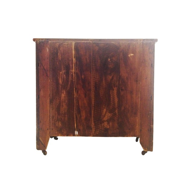 Antique One Door Chest - Image 7 of 7