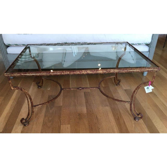 Glass Top Coffee Table - Image 2 of 4