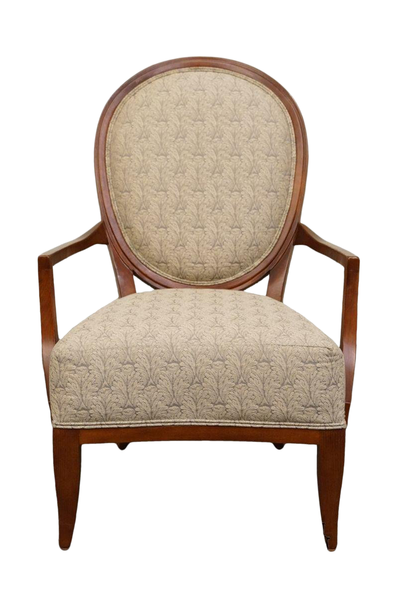 Beau 20th Century Traditional Ethan Allen Accent Arm Chair
