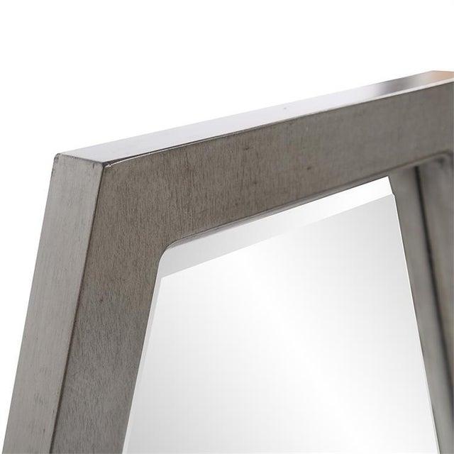Kenneth Ludwig Chicago Deacon Silver Mirror from Kenneth Ludwig Chicago For Sale - Image 4 of 6