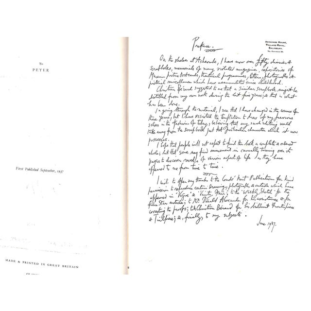 White Cecil Beaton's Scrapbook For Sale - Image 8 of 11