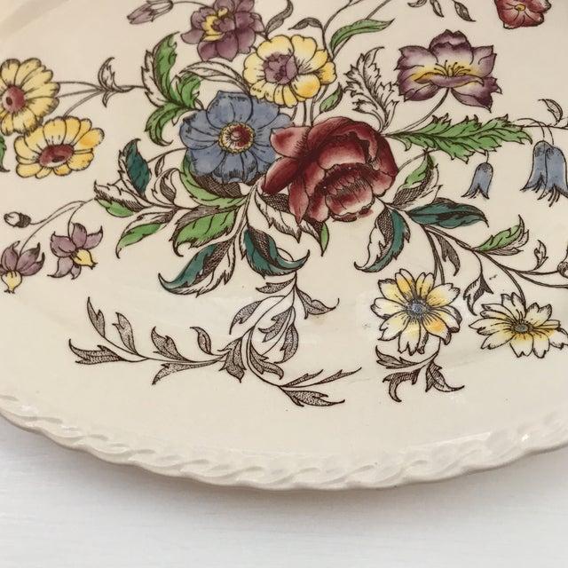 "1940s American Classical Vernon Kilns ""Mayflower"" Platter For Sale In Sacramento - Image 6 of 9"