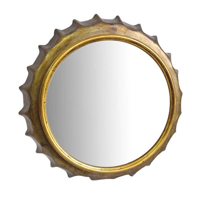 Bottle Cap Wall Mirror - Image 1 of 6