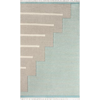 Novogratz by Momeni Karl Jules in Blue Rug - 4'X6' For Sale