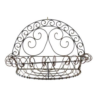 Boho Chic Wire Planter Flower Basket