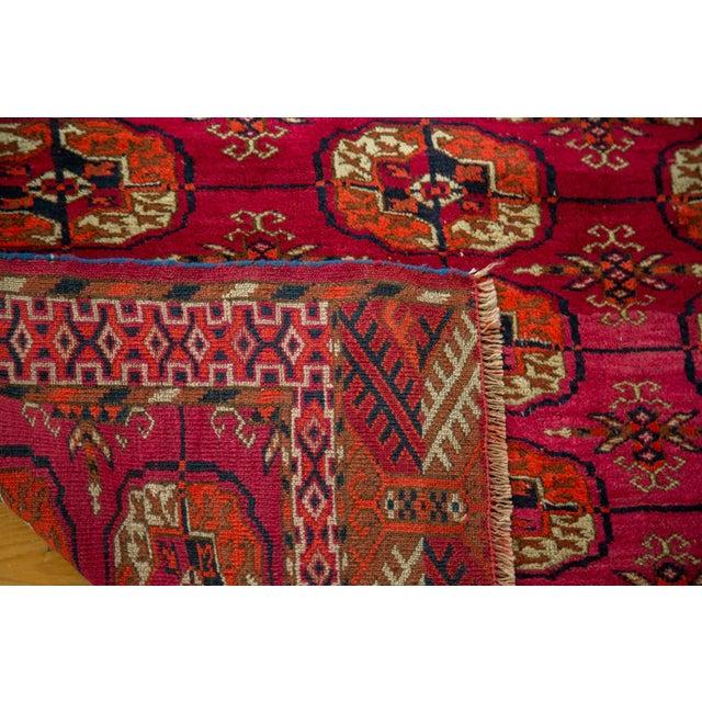 """Vintage Turkmen Square Rug - 3'4"""" X 3'4"""" - Image 8 of 8"""