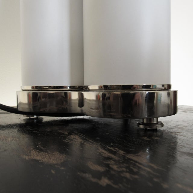 White DelightFULL Minimal Coltrane Table Lamp For Sale - Image 8 of 12