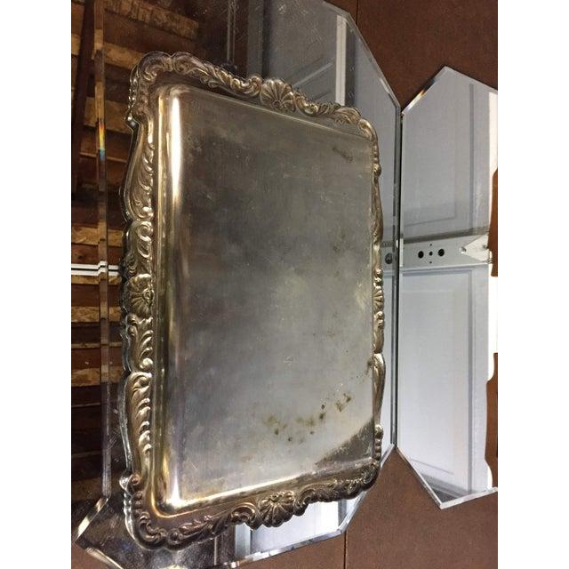 Silver Art Nouveau Silver-Plate Tea Set - 4 Pc. Set For Sale - Image 8 of 11