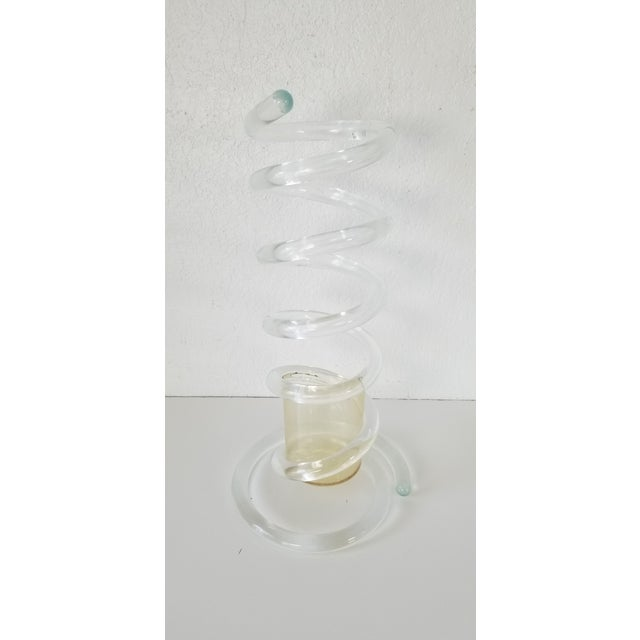 Dorothy Thorpe Attributed Lucite Umbrella Stand . For Sale - Image 11 of 11