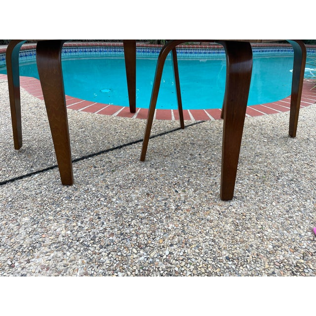 Thonet Mid Century Walnut End Tables - a Pair For Sale In New Orleans - Image 6 of 11