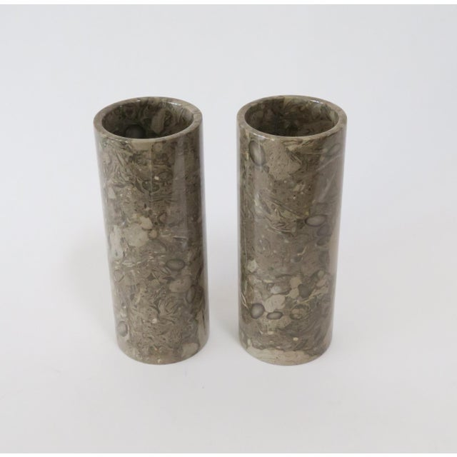 Stone Vases - a Pair - Image 3 of 5