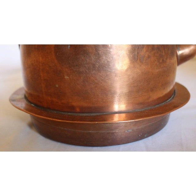 Mid 19th Century Large Copper Tea Kettle For Sale - Image 5 of 9