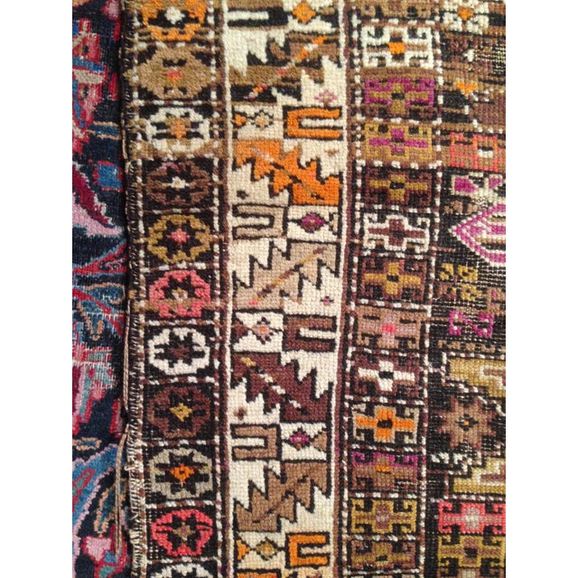"Funky 1920s Russian Area Rug, 3'6"" X 4'9"" - Image 4 of 10"