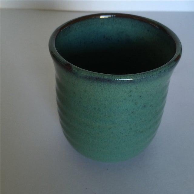 Vintage Pottery Mugs - Set of 5 - Image 8 of 11