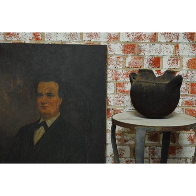 19th Century English Portrait of a Gentleman Oil on Canvas For Sale - Image 10 of 10