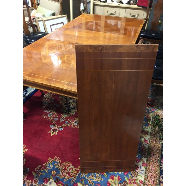 Vintage Baker Walnut Dining Table - Image 7 of 8