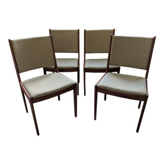 1970s Danish Modern Scandinavia Woodworks Teak Dining Chairs – Set of 4