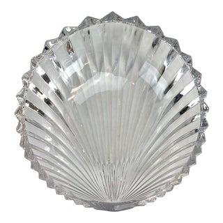 Villeroy & Boch Crystal Shell Bowl For Sale