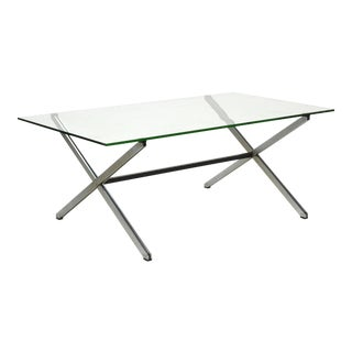 Florence Knoll Parallel Bar Coffee Table For Sale