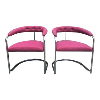 Thonet Anton Lorenz Chairs - A Pair