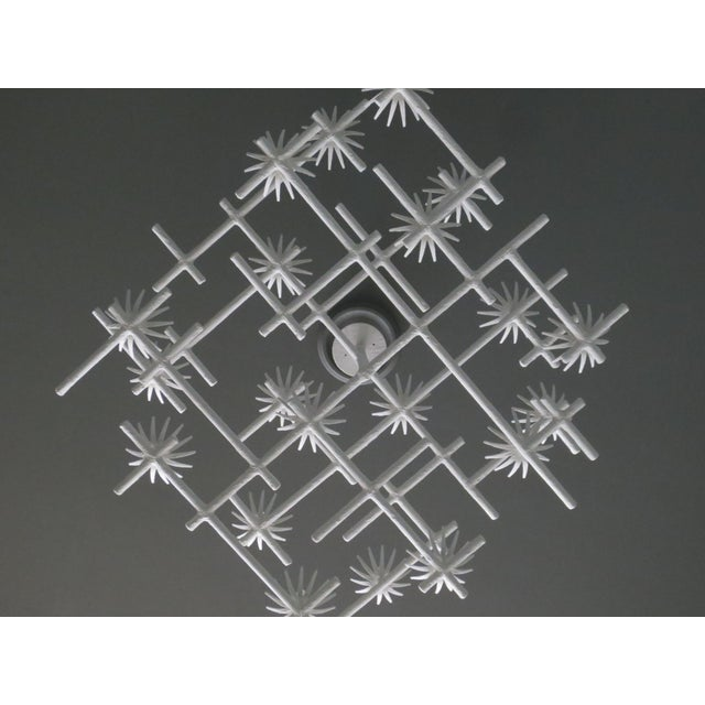 Not Yet Made - Made To Order Plaster Starburst Chandelier For Sale - Image 5 of 11