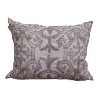 Callisto Home Embroidered Designer Pillow For Sale