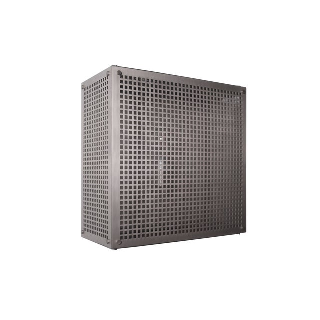Modern Contemporary 001 Flush Mount in Nickel by Orphan Work For Sale