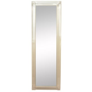 1980s Contemporary Lucite Full Length Mirror For Sale