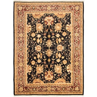"""Afghan Chobi-Finest Hand-Knotted Rug, 10'0"""" X 13'3"""" For Sale"""