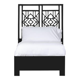 Tulum Bed Twin Extra Long - Black For Sale